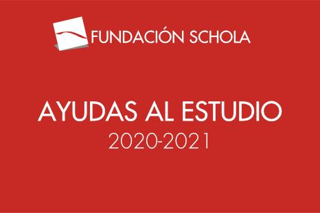 AYUDAS AL ESTUDIO 2020-21